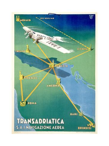 Transadricatica Art Print