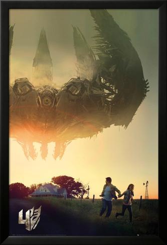 Transformers - 4 One Sheet Lamina Framed Poster