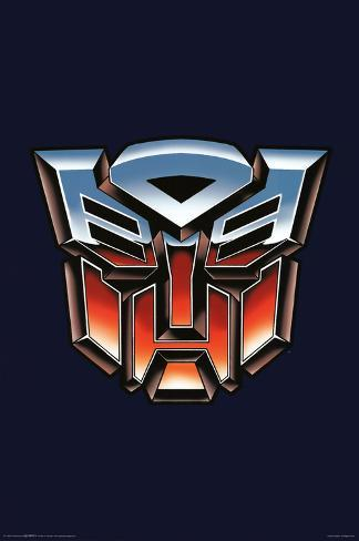 Transformers Autobot Logo Print At AllPosters