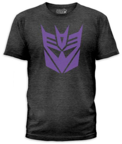 Transformers - Decepticon Logo (slim fit) T-Shirt