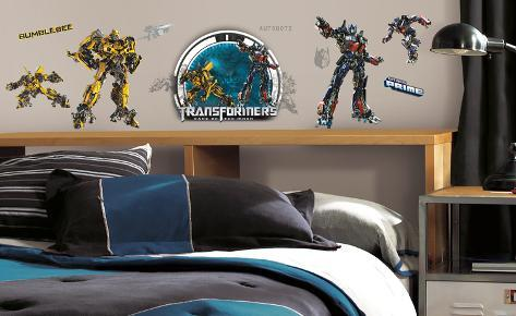 Transformers Peel & Stick Wall Decals Wall Decal