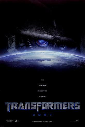 Transformers Double-sided poster
