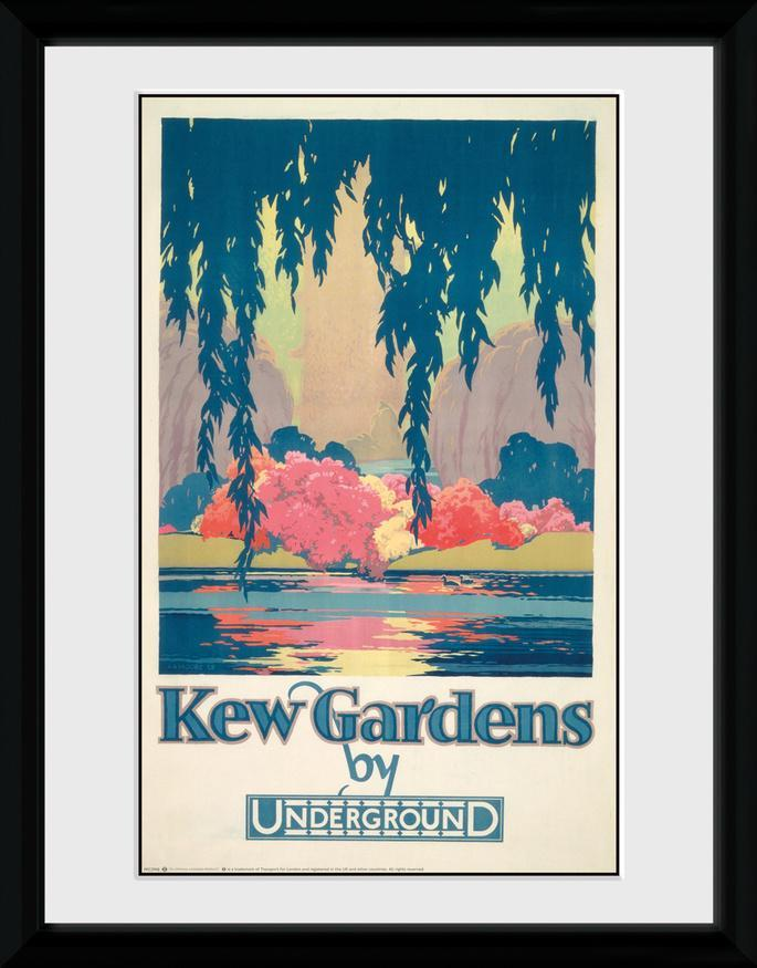 Transport for London - Kew Gardens Collector Print - AllPosters.co.uk