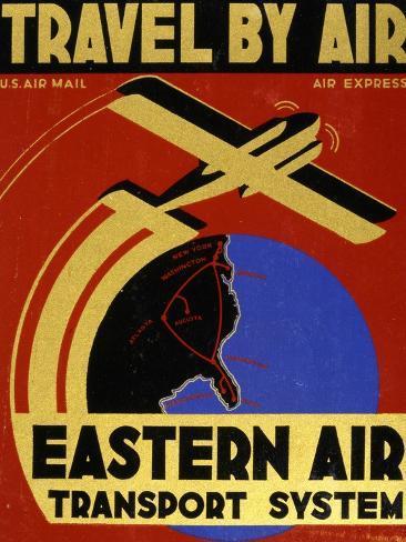 Travel By Air Art Print