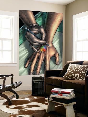 Doctor Spectrum: Full Spectrum No.3 Cover: Ledger and Joe Wall Mural