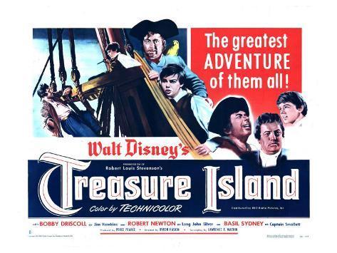 Treasure Island, 1950 Art Print