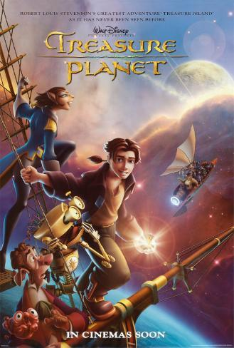 Treasure Planet Poster double face