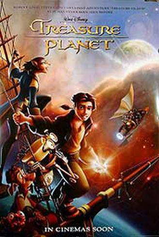 Treasure Planet Original Poster