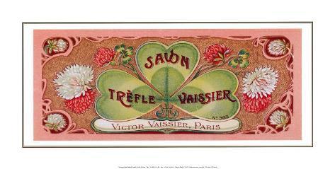 Trefle Vaissier Savon Art Print