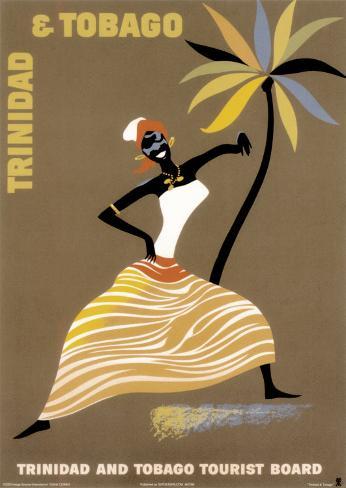Trinidad and Tobago Art Print