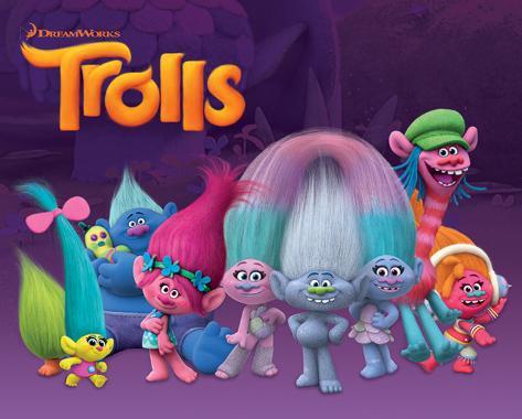 Trolls- Characters Mini poster