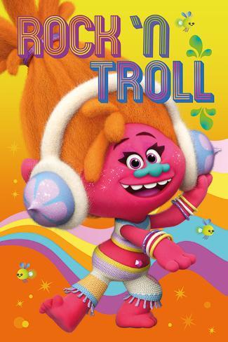 Trolls- Dj Poster