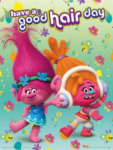 Trolls- Good Hair Day Poster