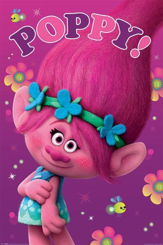 Trolls- Poppy Poster