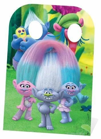 Trolls Stand-In - Can't Stop the Feeling Right Scene Figura de cartón