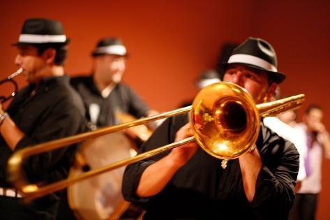 Trombone Player Valokuvavedos