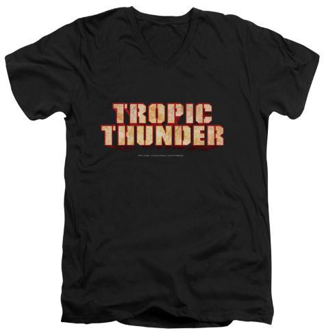 Tropic Thunder - Title V-Neck V-Necks