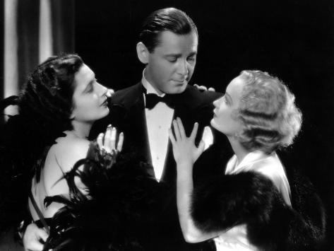 Trouble In Paradise, Kay Francis, Herbert Marshall, Miriam Hopkins, 1932 Photo