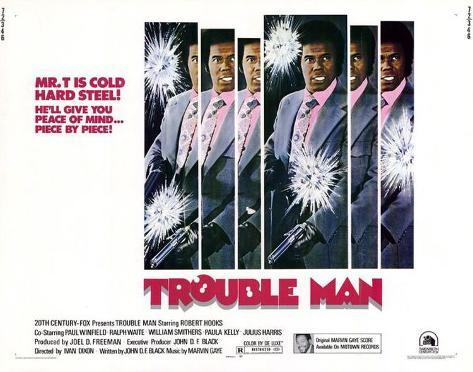 Trouble Man -  Style Poster