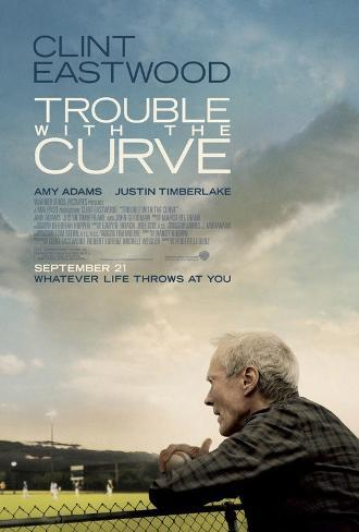 Trouble with the Curve Movie Poster Double-sided poster