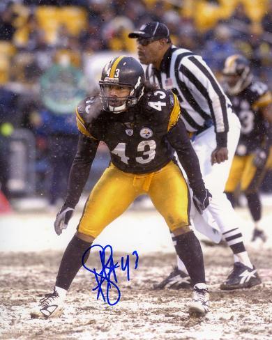 Troy Polamalu Pittsburgh Steelers Photo
