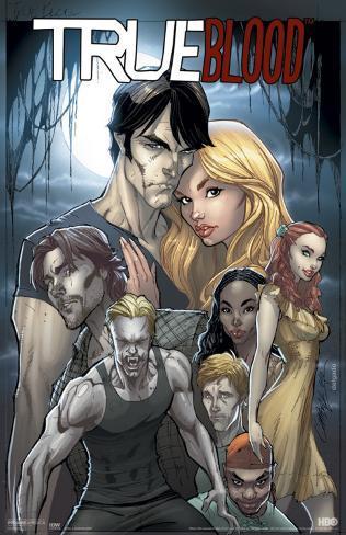 True Blood - Comic 1A Masterprint