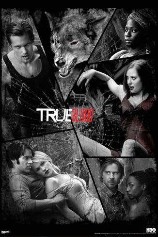 True Blood - Shattered Mirror Poster