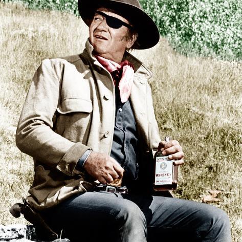TRUE GRIT, John Wayne, 1969 Foto
