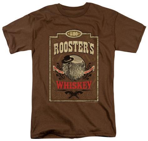 True Grit - Whiskey Label T-Shirt