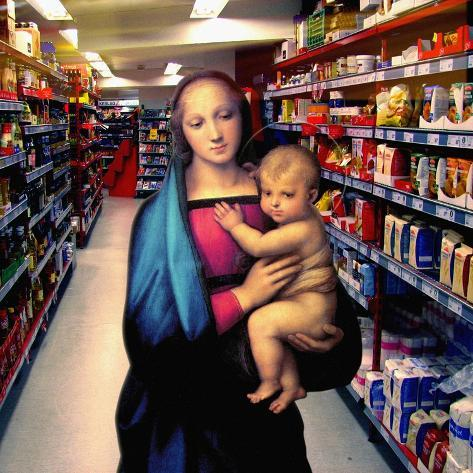 Vision at the Supermarket, 2007 Giclee Print