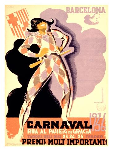 Carnival, 1936 Giclee Print