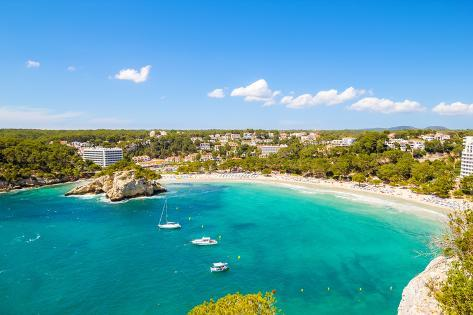 Cala Galdana - One of the Most Popular Beaches at Menorca Island, Spain. Photographic Print