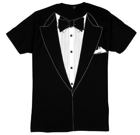 Tuxedo Costume Tee (slim fit) T-Shirt