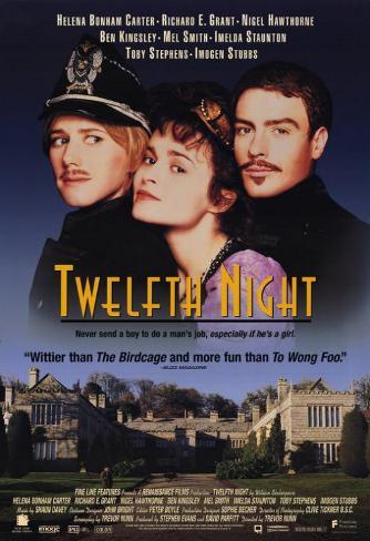 Twelfth Night Masterprint