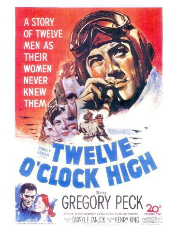 Twelve O'Clock High, 1949 Art Print