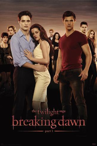 Twilight 4 - Breaking Dawn - Group Poster
