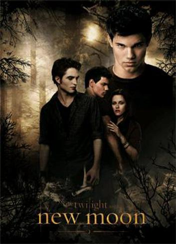 Twilight - New Moon 3 Dimensional Poster
