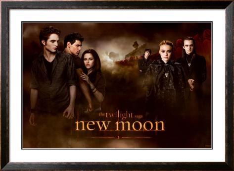 Twilight - New Moon Framed Poster