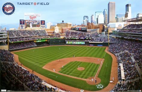 Twins - Target Field 10 Poster