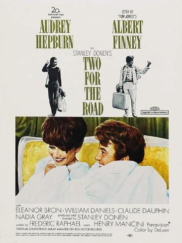 Two for the Road, 1967 Art Print
