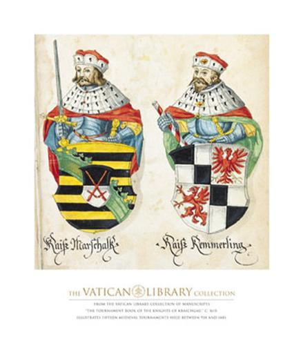 Two Kings with Sword and Javelin Art Print