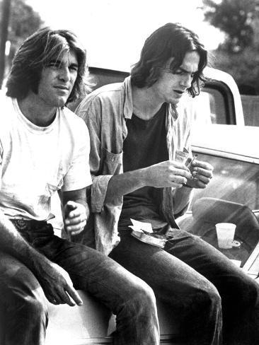 Two-Lane Blacktop, Dennis Wilson, James Taylor, 1971 Photo