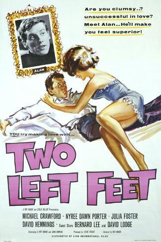 Two Left Feet Art Print