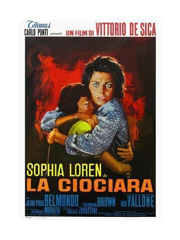 Two Women 1960 (La Ciociara) Giclee Print