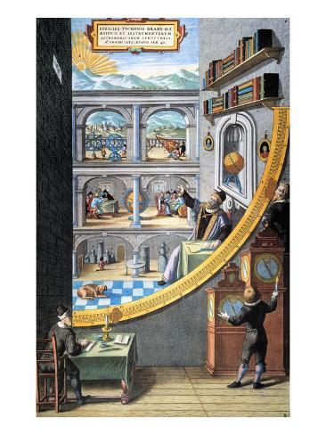 Tycho Brahe (1546-1601) Giclee Print