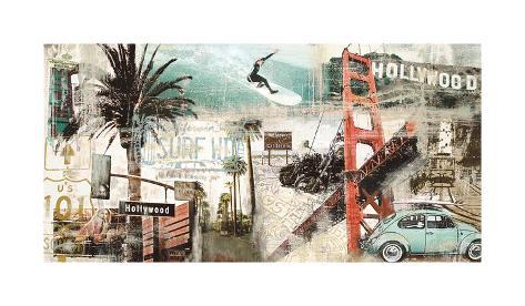 California Giclee Print