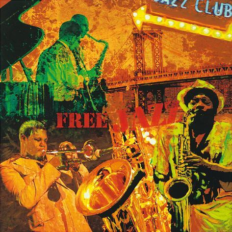 Free Jazz Art Print