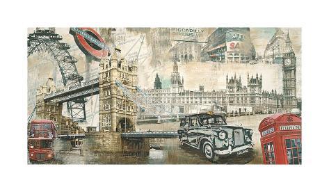 London Giclee Print