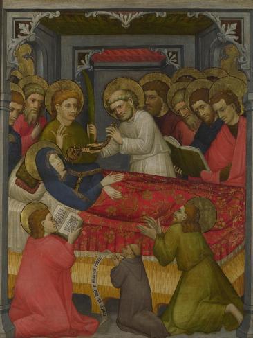 The Death of the Virgin, C.1425 Lámina giclée