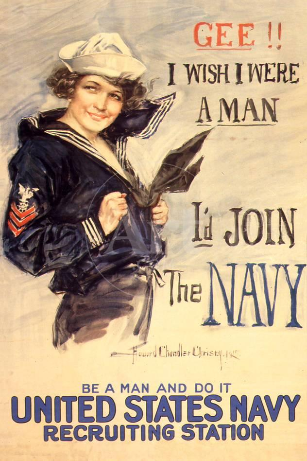 U S Navy I D Join The Navy Wwii Propaganda Vintage Prints At